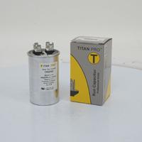 TITAN PRO Run Capacitor 20 MFD 440/370 Volt Round