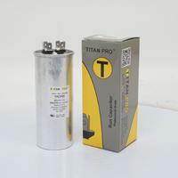 TITAN PRO Run Capacitor 55 MFD 440/370 Volt Round