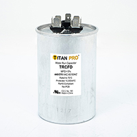 TITAN PRO Run Capacitor 40+5 MFD 440/370 Volt Round