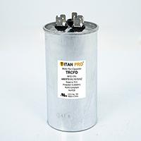 TITAN PRO Run Capacitor 60+3 MFD 440/370 Volt Round