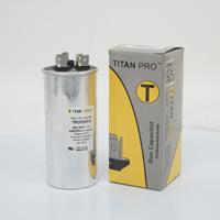 TITAN PRO Run Capacitor 25+15 MFD 440/370 Volt Round