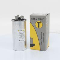 TITAN PRO Run Capacitor 35+5 MFD 440/370 Volt Round