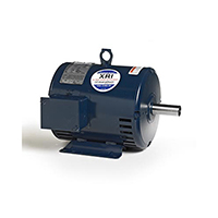182T FR 3 Ph. Motor, 1 1/2 HP, 1200 RPM, 208-230/460 V