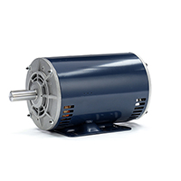 145T Frame 3 Ph. Motor, 1 1/2 HP, 1800 RPM, 208-230/460 V