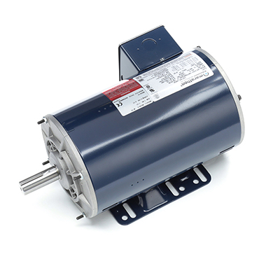 145T Frame 3 Ph. General Purpose Motor, 2 HP, 1800 RPM, 208-230/460 V