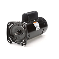 Square Flange Pool Filter Motor 3450 RPM 230 Volts 2 H.P.