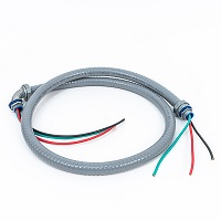 Whip with Metallic Fitting 1/2