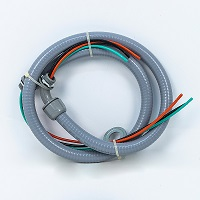 Whip with Non Metallic Fitting 1/2