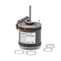48Y Frame PSC Direct Drive Motor 1/2 HP 1625 RPM 3 Speed 115 Volts
