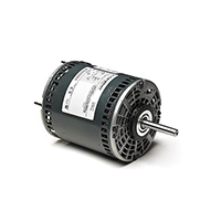 48Y Frame PSC Direct Drive Fan and Blower Motor, 1 HP, 1625 RPM, 208-230 V
