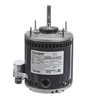 48Y Frame PSC OEM Replacement Motor: Greenheck, 1/8 HP, 825 RPM, 115 Volts