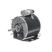 48Y Frame PSC Unit Heater Fan Motor, 1/4 HP, 1075 RPM, 115 Volts