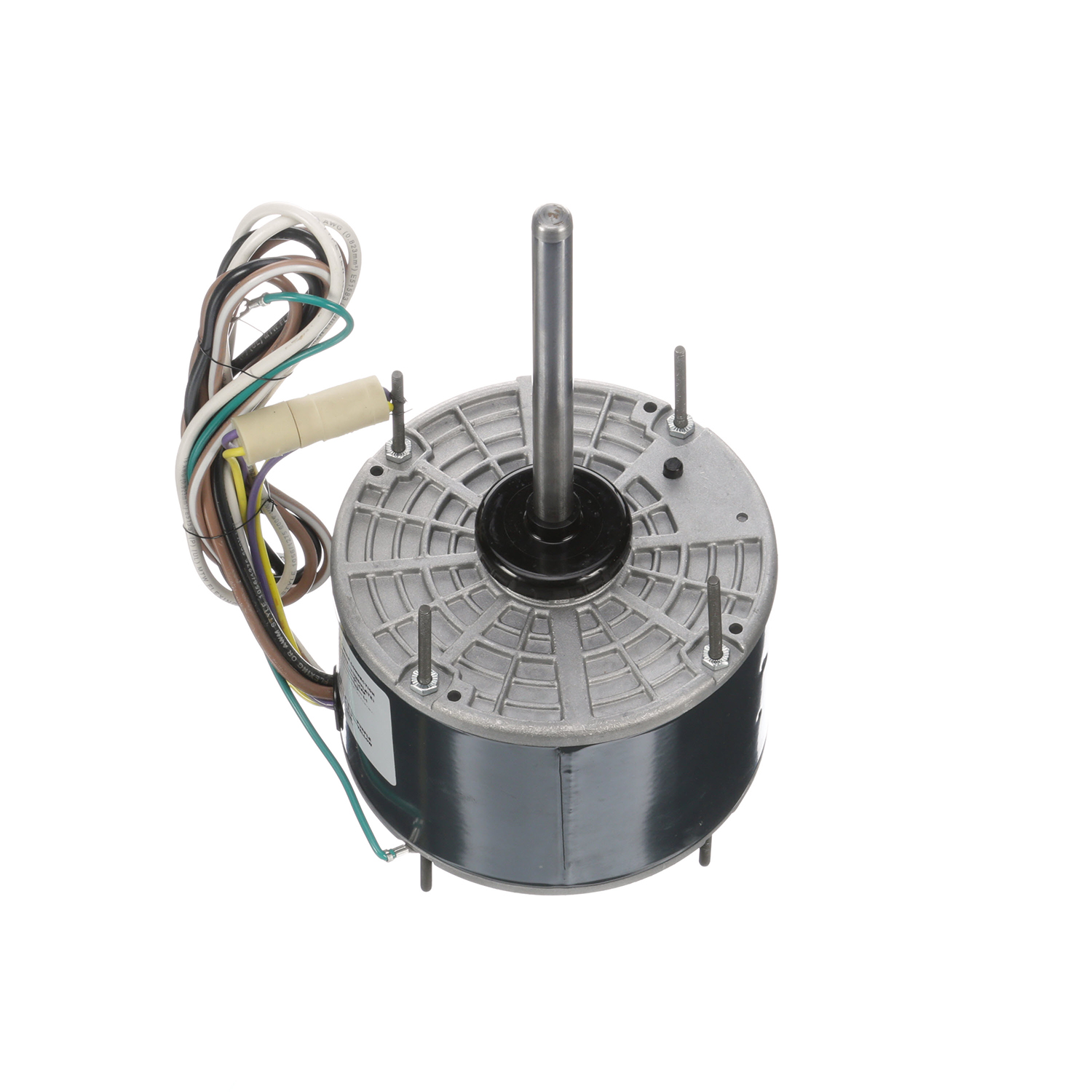 48Y FR PSC Condenser Fan Mtr, 1/6 HP, 1075 RPM, 208-230 V, Replaces
