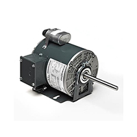 48Z FR PSC Commercial Condenser Fan Motor, 1/2 HP, 1075 RPM, 208-230/460 V