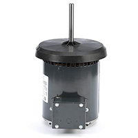 48Y FR PSC Commercial Condenser Fan Motor, 0.6 HP, 1075 RPM, 200-230/460 V
