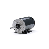 56HZ Frame 3 Ph. Refrigeration Fan Motor, 1 HP, 900 RPM, 208-230/460 V